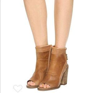 Dolce Vita Niki Open Toe Boots Size 5 1/2